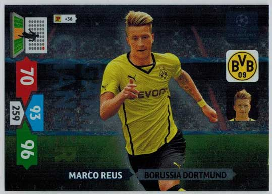 Game Changer, 2013-14 Adrenalyn Champions League, Marco Reus