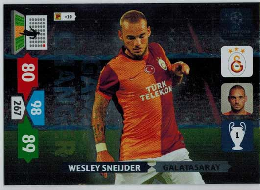 Game Changer, 2013-14 Adrenalyn Champions League, Wesley Sneijder