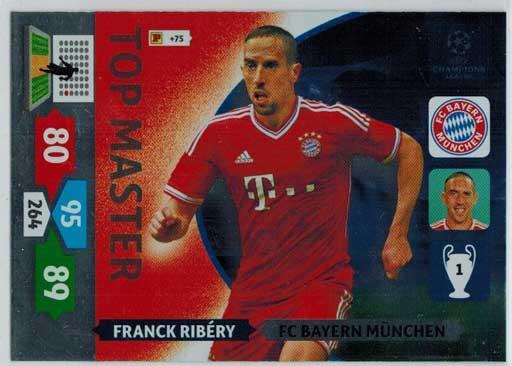 Top Master, 2013-14 Adrenalyn Champions League, Franck Ribery