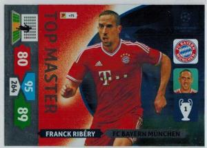 Top Master, 2013-14 Adrenalyn Champions League, Franck Ribery