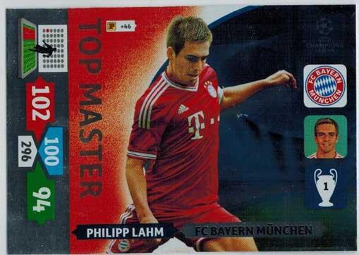 Top Master, 2013-14 Adrenalyn Champions League, Philipp Lahm