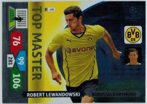 Top Master, 2013-14 Adrenalyn Champions League, Robert Lewandowski