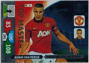 Top Master, 2013-14 Adrenalyn Champions League, Robin Van Persie