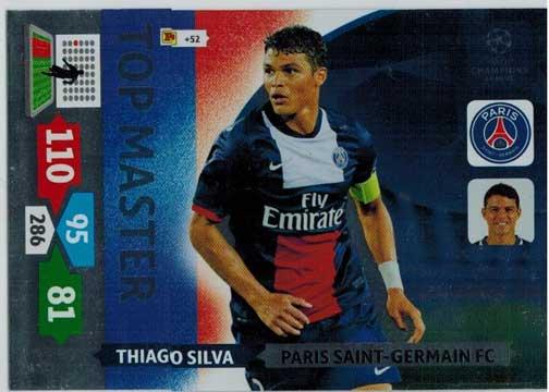 Top Master, 2013-14 Adrenalyn Champions League, Thiago Silva