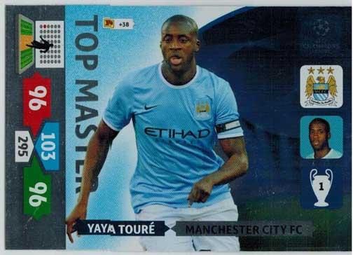 Top Master, 2013-14 Adrenalyn Champions League, Yaya Toure