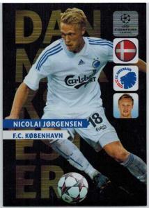 Danmarks Mester, 2013-14 Adrenalyn Champions League, Nicolai Jorgensen
