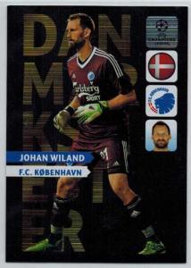 Danmarks Mester, 2013-14 Adrenalyn Champions League, Johan Wiland