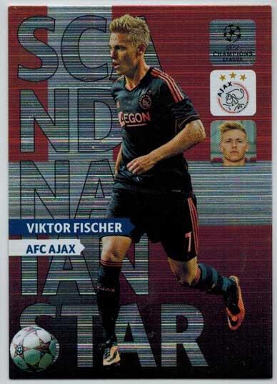 Scandinavian Star, 2013-14 Adrenalyn Champions League, Viktor Fischer