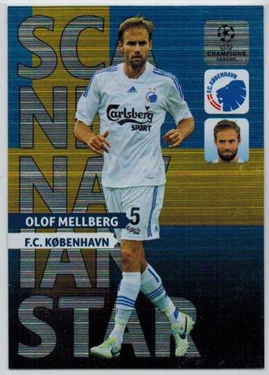 Scandinavian Star, 2013-14 Adrenalyn Champions League, Olof Mellberg