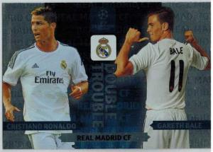 Double Trouble, 2013-14 Adrenalyn Champions League, Cristiano Ronaldo / Gareth Bale