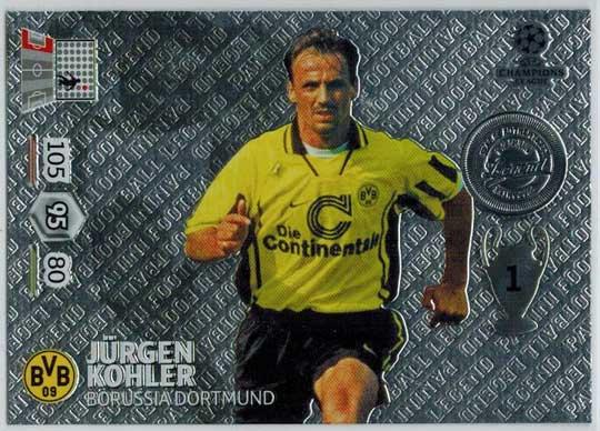 Legend, 2013-14 Adrenalyn Champions League, Jurgen Kohler / Jürgen Kohler