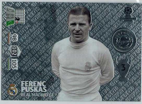Legend, 2013-14 Adrenalyn Champions League, Fernec Puskas