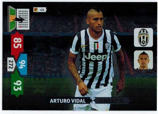 Game Changer, 2013-14 Adrenalyn Champions League, Arturo Vidal