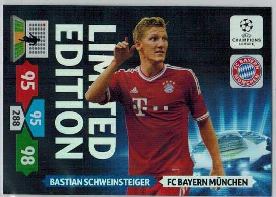 Limited Edition, 2013-14 Adrenalyn Champions League, Bastian Schweinsteiger