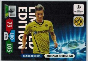 Limited Edition, 2013-14 Adrenalyn Champions League, Marco Reus