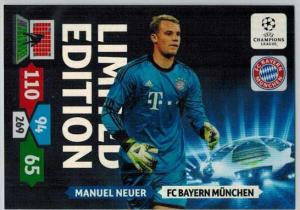 Limited Edition, 2013-14 Adrenalyn Champions League, Manuel Neuer