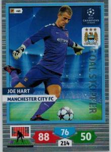 Goal Stopper, 2013-14 Adrenalyn Champions League, Joe Hart