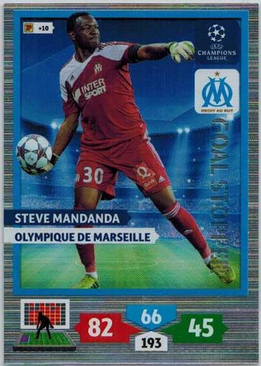 Goal Stopper, 2013-14 Adrenalyn Champions League, Steve Mandanda