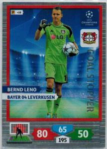 Goal Stopper, 2013-14 Adrenalyn Champions League, Bernd Leno