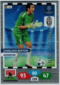 Goal Stopper, 2013-14 Adrenalyn Champions League, Ginaluigi Buffon