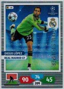 Goal Stopper, 2013-14 Adrenalyn Champions League, Diego Lopez