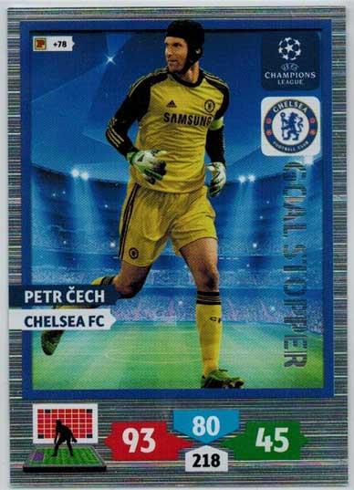 Goal Stopper, 2013-14 Adrenalyn Champions League, Petr Cech
