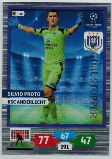 Goal Stopper, 2013-14 Adrenalyn Champions League, Silvio Proto