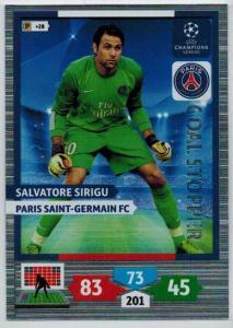 Goal Stopper, 2013-14 Adrenalyn Champions League, Salvatore Sirigu