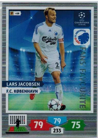 Fans Favourite, 2013-14 Adrenalyn Champions League, Lars Jacobsen