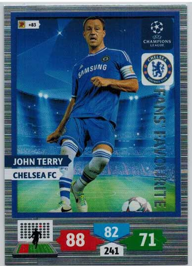 Fans Favourite, 2013-14 Adrenalyn Champions League, John Terry