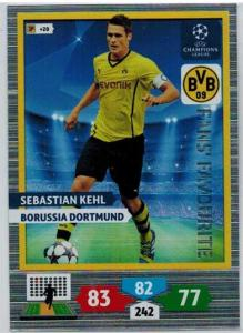 Fans Favourite, 2013-14 Adrenalyn Champions League, Sebastian Kehl
