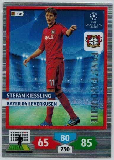 Fans Favourite, 2013-14 Adrenalyn Champions League, Stefan Kiessling