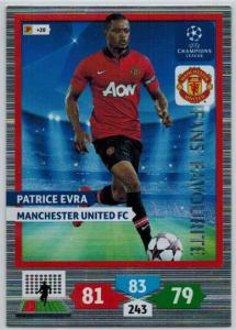 Fans Favourite, 2013-14 Adrenalyn Champions League, Patrice Evra