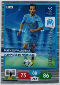 Fans Favourite, 2013-14 Adrenalyn Champions League, Mathieu Valbuena