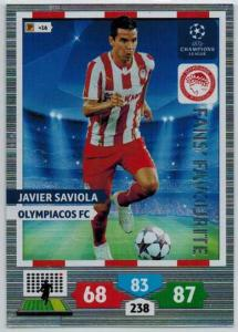 Fans Favourite, 2013-14 Adrenalyn Champions League, Javier Saviola