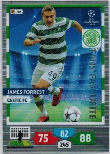 Fans Favourite, 2013-14 Adrenalyn Champions League, James Forrest