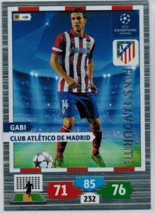 Fans Favourite, 2013-14 Adrenalyn Champions League, Gabi