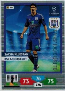 Fans Favourite, 2013-14 Adrenalyn Champions League, Sacha Kljestan