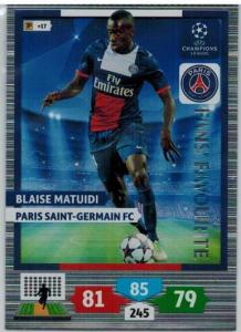 Fans Favourite, 2013-14 Adrenalyn Champions League, Blaise Matuidi