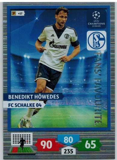 Fans Favourite, 2013-14 Adrenalyn Champions League, Benedikt Howdes / Benedikt Höwdes