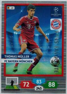Fans Favourite, 2013-14 Adrenalyn Champions League, Thomas Muller / Thomas Müller