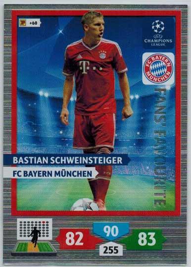 Fans Favourite, 2013-14 Adrenalyn Champions League, Bastian Schweinsteiger