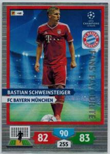 Fans Favourite, 2013-14 Adrenalyn Champions League, Bastian Schweinsteiger