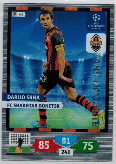 Fans Favourite, 2013-14 Adrenalyn Champions League, Darijo Srna