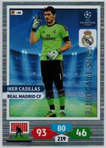 Fans Favourite, 2013-14 Adrenalyn Champions League, Iker Casillas