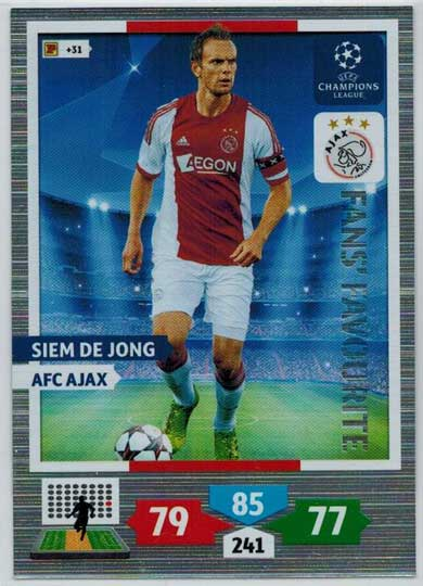 Fans Favourite, 2013-14 Adrenalyn Champions League, Siem De Jong