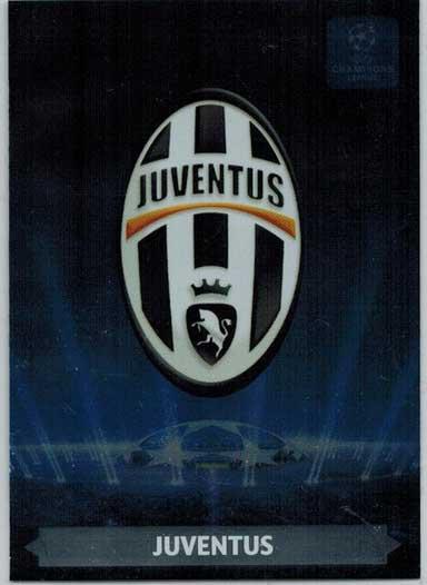 Team Logos, 2013-14 Adrenalyn Champions League, Juventus