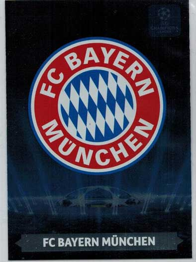 Team Logos, 2013-14 Adrenalyn Champions League, FC Bayern Munchen