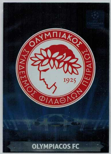 Team Logos, 2013-14 Adrenalyn Champions League, Olympiacos FC