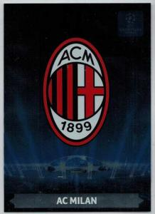 Team Logos, 2013-14 Adrenalyn Champions League, AC Milan